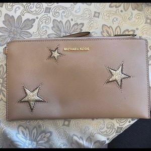 Michael Kors Clutch with Stars